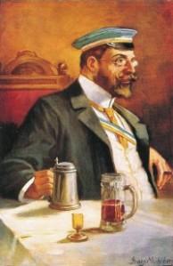 Alter Herr um 1900
