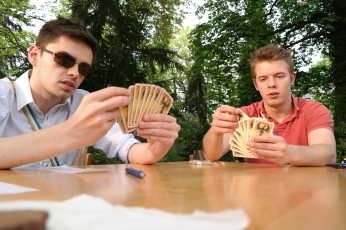 Pokerface beim DoKo