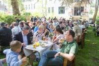 Ein Familienfest im Ghibellinengarten